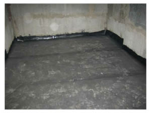 Гидроизоляция пола подвального помещения