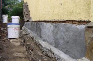 Подготовка наружных стен