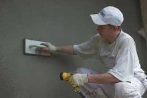 Как заштукатурить кирпичную стену