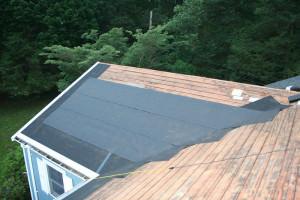 Вид на крышу сверху
