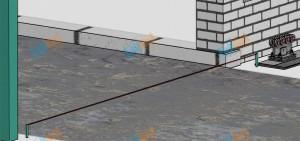 Определение линии движения ворот