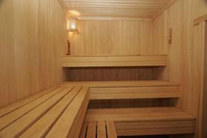 Деревянная мебель для парилки