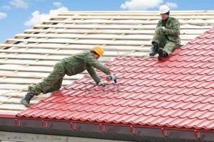 Монтаж металлочерепичной крыши