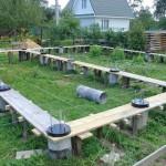 Столбчатый фундамент возводят для строительства дач и небольших строений без подвала