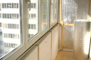 Теплоизоляция стен и потолка