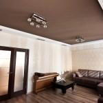 Гипсокартонный потолок с нишей