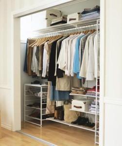 Внутренняя отделка гардеробной