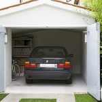 Как сделать распашные гаражные ворота своими руками