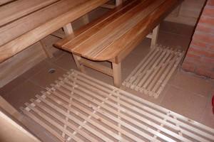 Деревянные решетки для бани