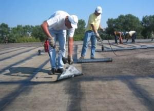 Проведение работ по ремонту крыши