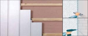 Обшиваем стены и потолок