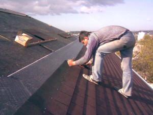 Процесс установки мягкой крыши