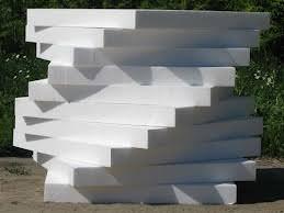 Пирамида из листов пенопласта