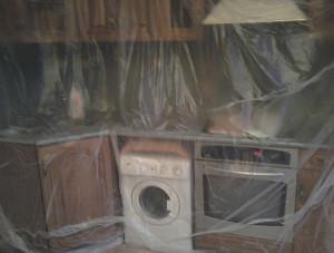 Подготовка комнаты к монтажным работам