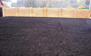 Подготовка почвы под засев