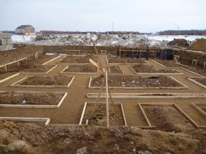Готовим участок для проведения строительных работ