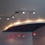 Фигурный гипсокартонный потолок