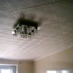 Текстурированная потолочная плитка