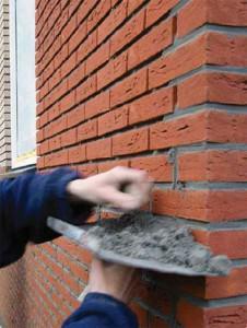 Реставрация старых швов в кладке