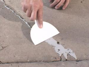 Шпаклевка трещин и впадин