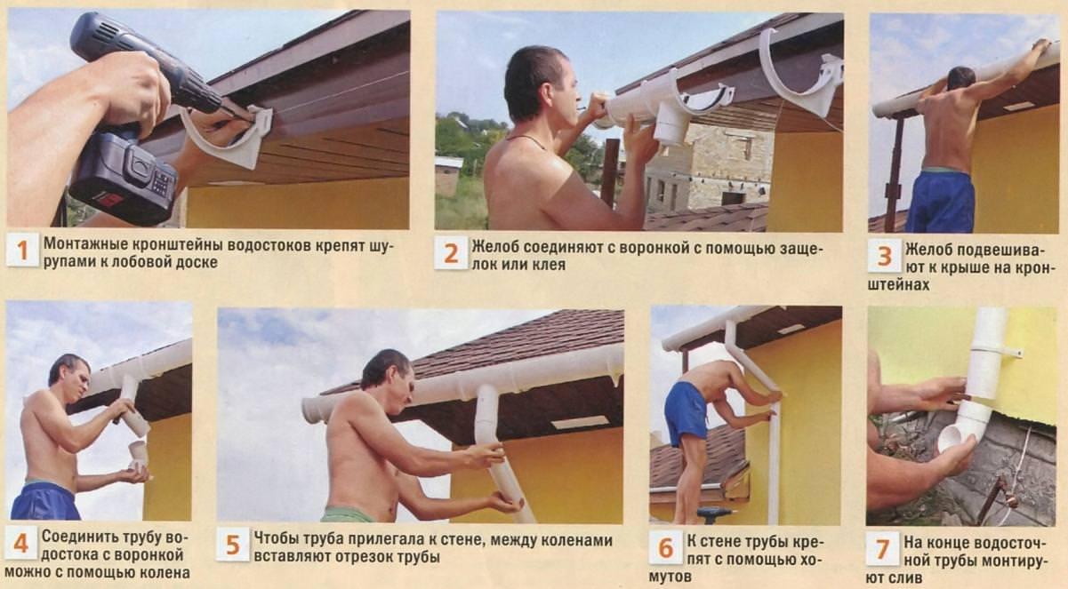 Отливы для крыши из пластиковых бутылок