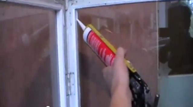 Герметизация стекла силиконом