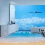 Берег океана в комнате