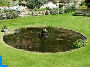 Декоративное озеро