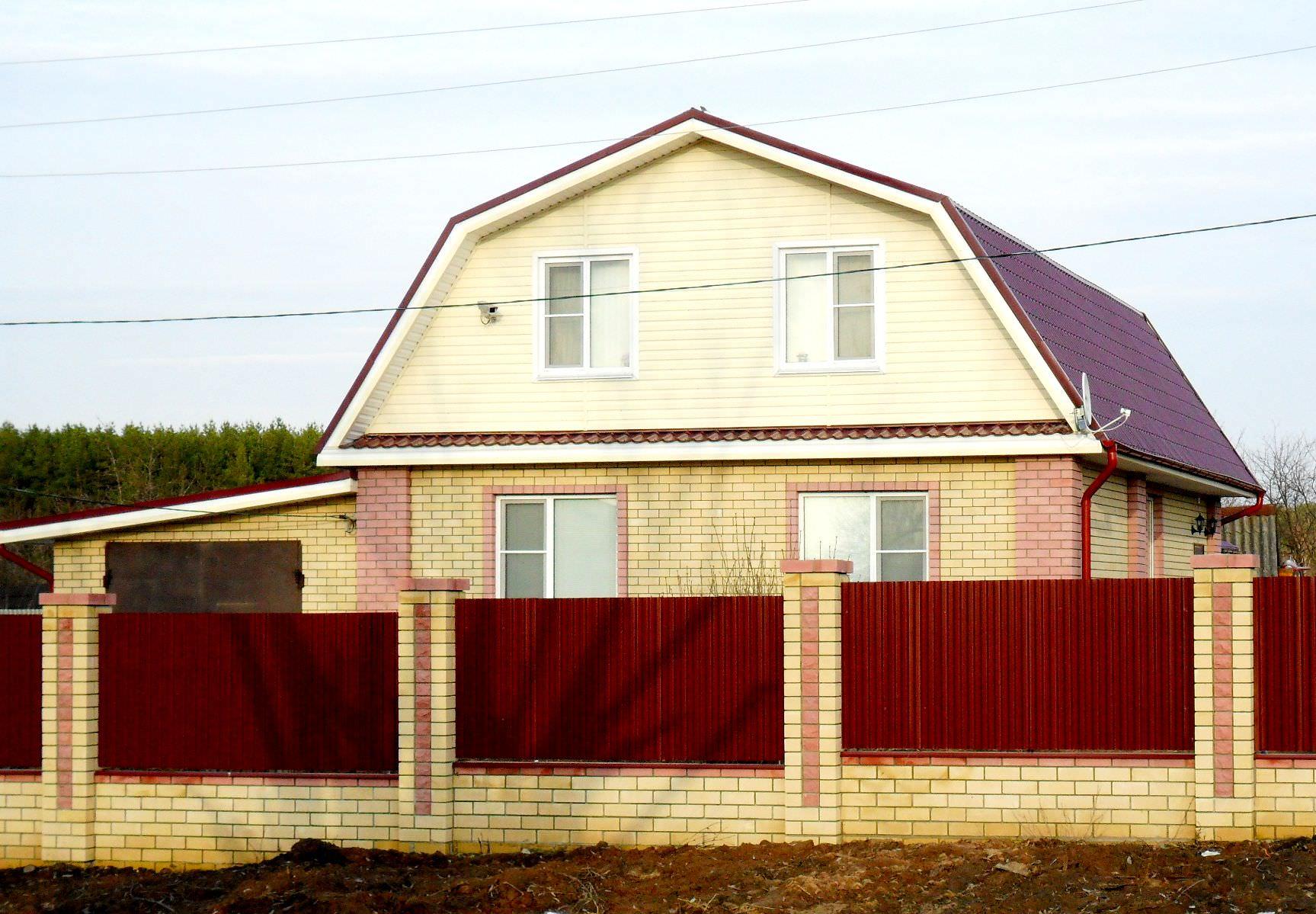 Крыши частных домов своими руками фото