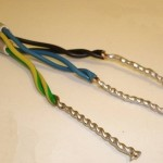 Алюминиевый и медный проводы