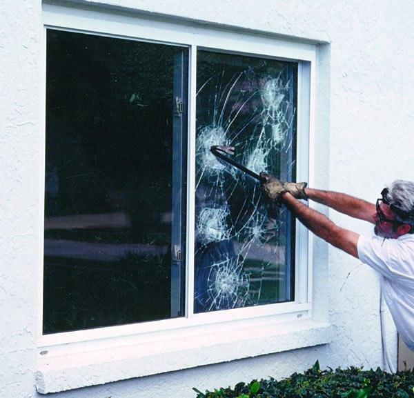 Тонировочная пленка для окна Противоударная