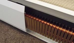 Теплый плинтус электрический
