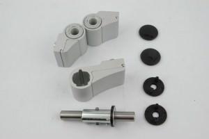 Петли для алюминиевых дверей: установка и замена петель