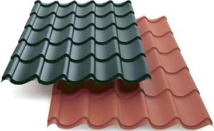 Каков размер листа металлочерепицы для крыши