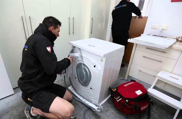 Установка новой стиральной машины своими руками6