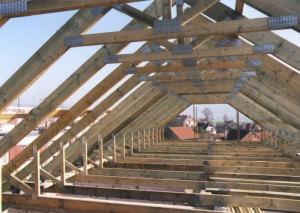 Правила монтажа стропильной системы вальмовых крыш