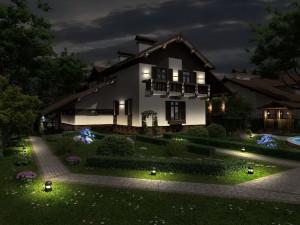 Советы по выбору светодиодных прожекторов для уличного освещения частного дома